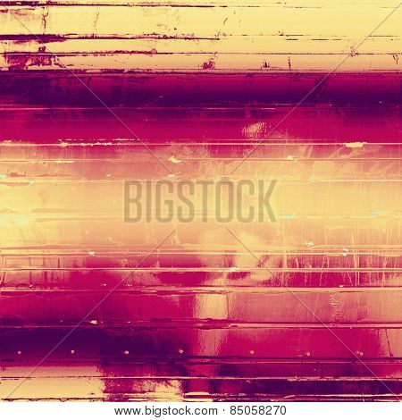 Abstract old background or faded grunge texture. With different color patterns: yellow (beige); purple (violet); pink