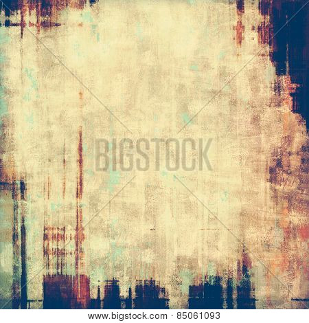 Abstract old background or faded grunge texture. With different color patterns: yellow (beige); gray; brown; purple (violet)