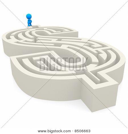 3D Dollas Labyrinth