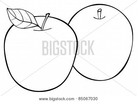 Delightful Garden - Set Of Two Apples With A Leaf