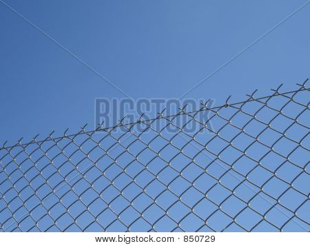 fence sky