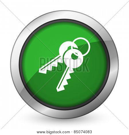 keys green icon