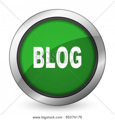 blog green icon