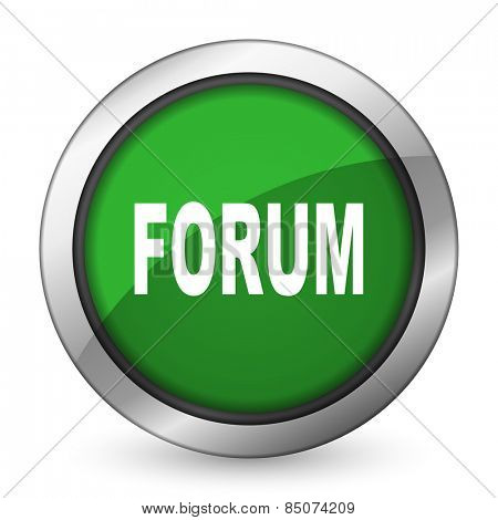 forum green icon
