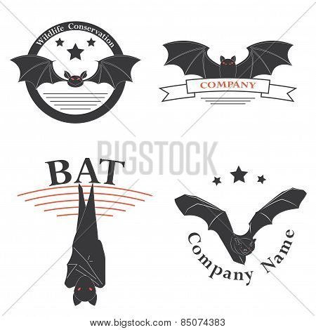 logos with the image of a bat