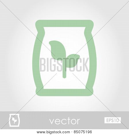Fertilizer Vector Icon