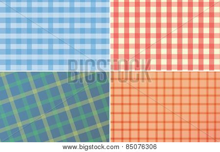 four pattern of fabric