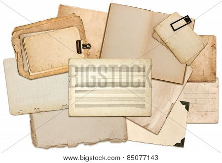 Misic Notes Paper Sheets, Book Pages, Cardboards, Photo Frames