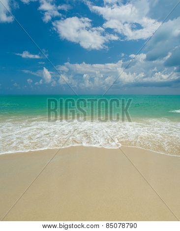 Sea at Koh Samui island in Thailand