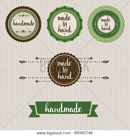 Handmade. Original Custom Hand Lettering.