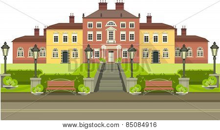 Country House With Park