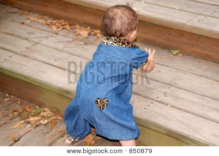 Stair Climbing Baby