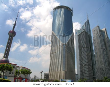 Shanghai downtown