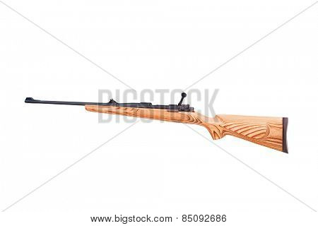 carbine on a white background