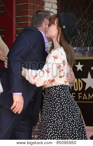 LOS ANGELES - MAR 5:  Chris O'Donnell, ?Renee Felice Smith at the Chris O'Donnell Hollywood Walk of Fame Star Ceremony at the Hollywood Blvd on March 5, 2015 in Los Angeles, CA