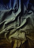 foto of indigo  - Old  indigo and brown toned cloth  - JPG
