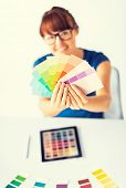 stock photo of interior decorator  - interior design - JPG