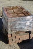 foto of paved road  - new paving packed for road repairs Packed - JPG