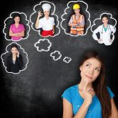 foto of bubbles  - Career education choice options  - JPG