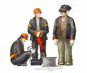 image of electrician  - Welder - JPG