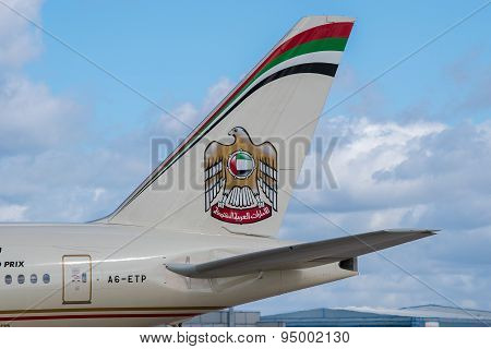Etihad Airlines Tail