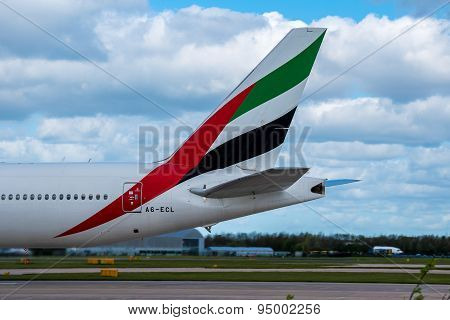 Emirates Plane Tail