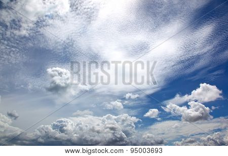 Clouds Over The Gulf Of Siamese