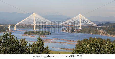 Tall Bridge over the Fraser River