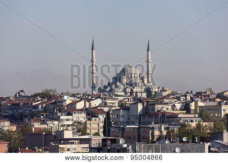 Eyüp Sultan Mosque in Istanbul, Turkey