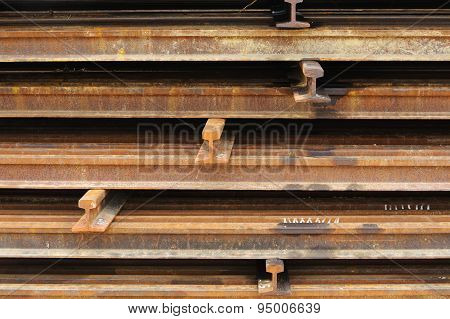 Rust Iron Beam