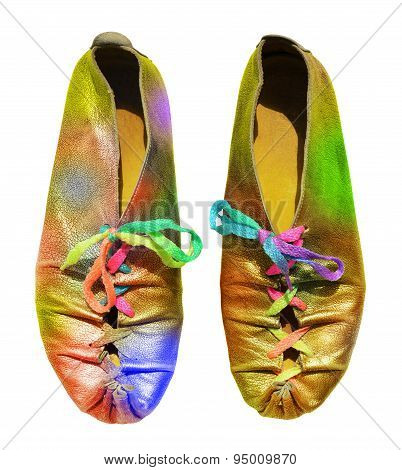 Ladies Fun Rainbow Shoes