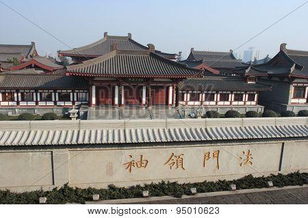 Xian Temple, China