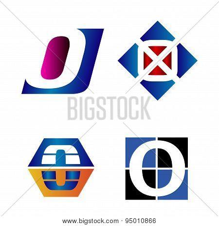Alphabetical Logo Design Concepts. Letter O