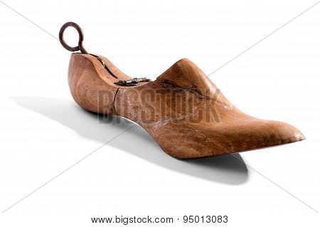Antique Wooden Shoe Horn