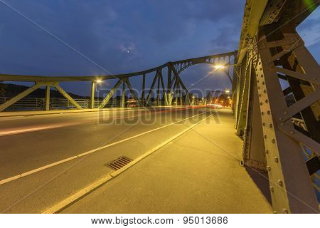 Glienicke Bridge Sideways