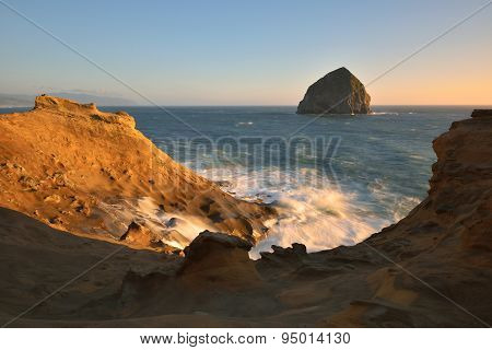 Cape Kiwanda Sunset, Pacific City, Oregon