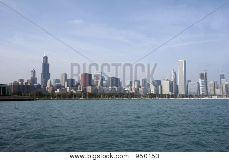 Skyline Of Chicago Soc05