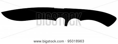hunting knife silhouette
