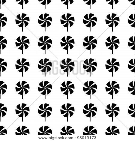 Whirligig Seamless Pattern. Vector