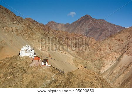 Namgyal Tsemo Gompa In Leh, Ladakh, India