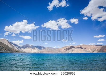 Pangong Lake At Ladakh, India