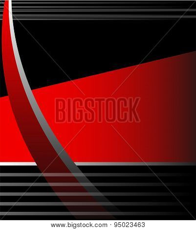 Abstrack red background vector