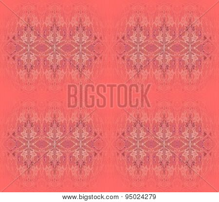Seamless pattern red brown