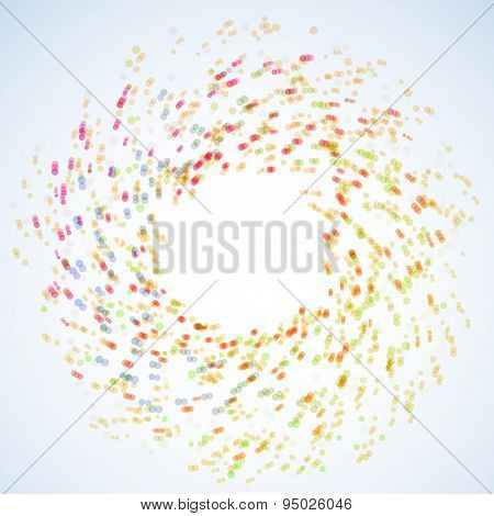 Bright Tornado Colorful Rainbow Swirl