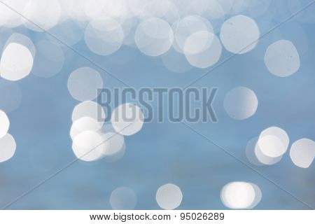 Abstract Background Of Defocused Sea Surface
