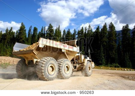Giant Dump Truck