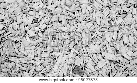 Coconut Coir Husk Fiber Monochrome