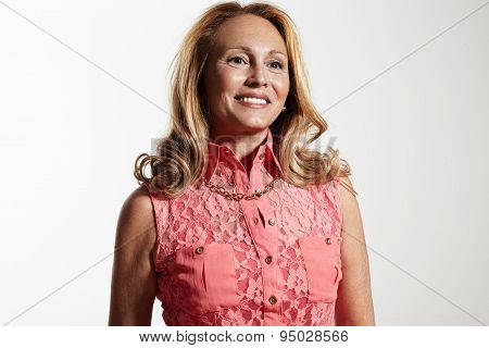Perfect Looking Senior Woman