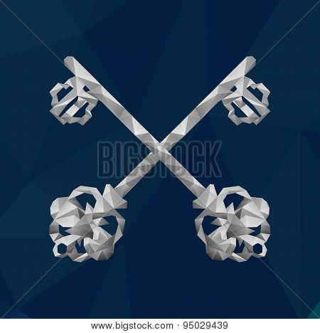2 Crystal Keys