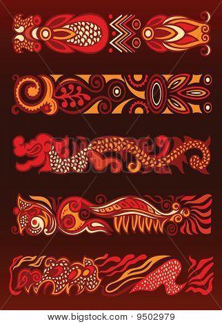 Decorative Ornament Elements